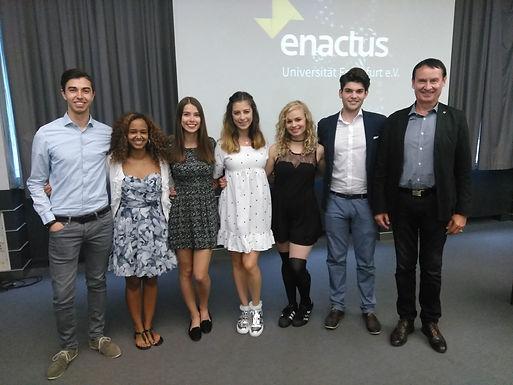 GFA @ Enactus Goethe University Frankfurt Team, July 1st, 2017