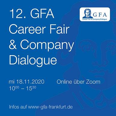 12. GFA Career Fair and Company Dialogue