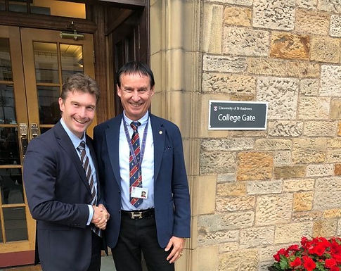 GFA meets Vice-Principal of University of St Andrews, September 2018