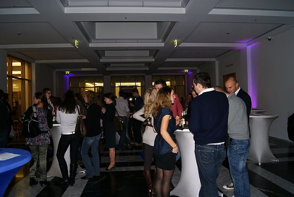 1. GFA Fusion Party 2010 im House of Finance am 11.11.2010 ein großer Erfolg