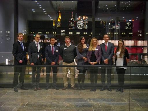 GFA-Premium-Supporter Commerzbank zu Gast mit Company Presentation im Campus Westend am 13.11.2013