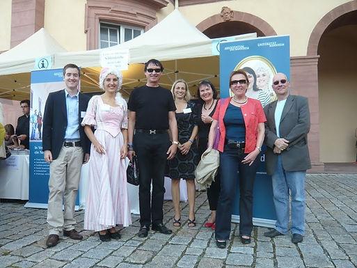 GFA beim Schlossfest der Universität Mannheim am 08.09.2012
