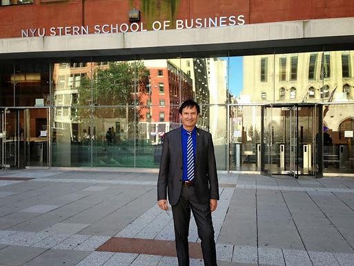 Dr. Trummer visits New York University/Stern School of Business September 2013