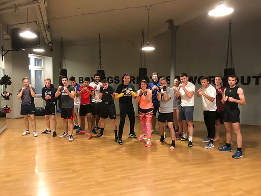 24. Exclusive GFA Boxing Workout, October 30th, 2018