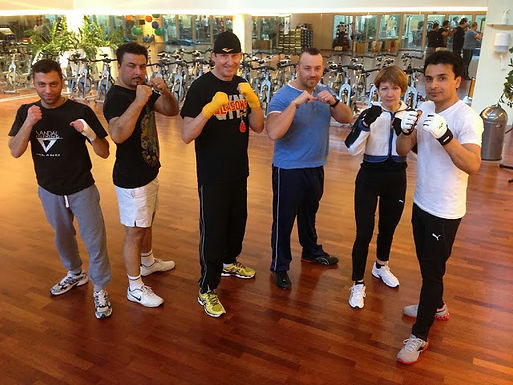 GFA Personal Boxing Workout at Nautilus Fitness Company am 18.01.2014