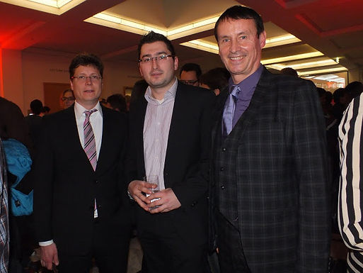 GFA-Weihnachtsfeier gemeinsam mit dem House of Finance am 14.12.2011