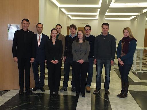 GFA-Premium-Förderunternehmen SEB AG mit Fachvortrag im House of Finance am 01.02.12