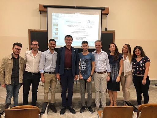 Dr. Trummer gives leadership seminar for Master students at University of Catania