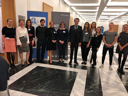 GFA supporter J.P.Morgan with Company Presentation at House of Finance, November 5th, 2018