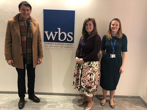 Dr. Trummer visits Warwick Business School in March 2019