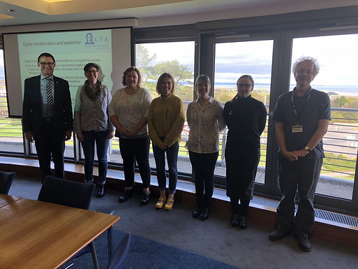 Dr. Trummer gives leadership colloquium at the University of St Andrews, April 18th, 2018