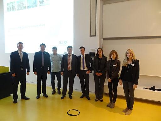 UBS Deutschland AG mit Fachvortrag im House of Finance am 23.05.2013