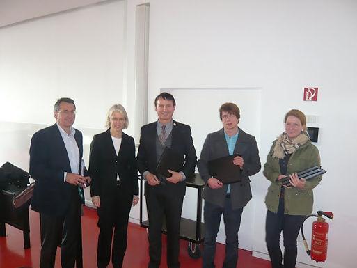 Helaba-Master-Package-Aktion mit der GFA am 11.04.2012
