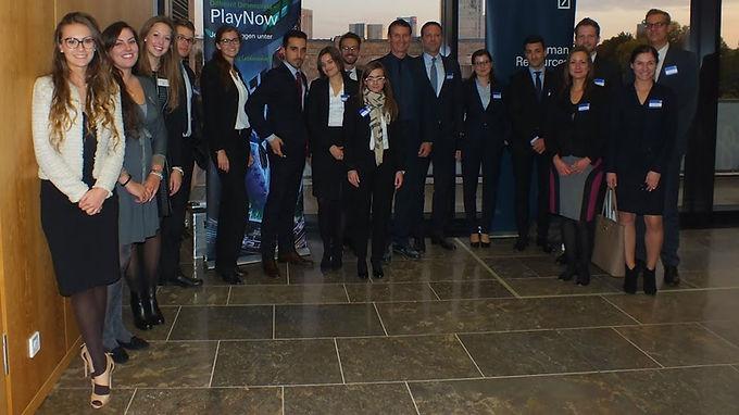 GFA-Premium-Supporter Deutsche Bank zu Gast mit Company Presentation im Hörsaalzentrum am 23.10.2014