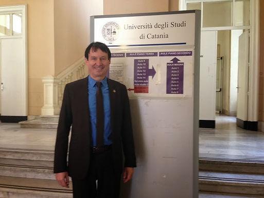 Dr. Trummer zu Gast bei Universität von Catania