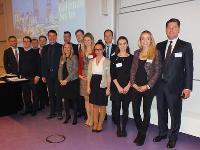 Goldman Sachs mit Company Presentation am 28.11.2013 im Hörsaalzentrum HZ 6/Campus Westend