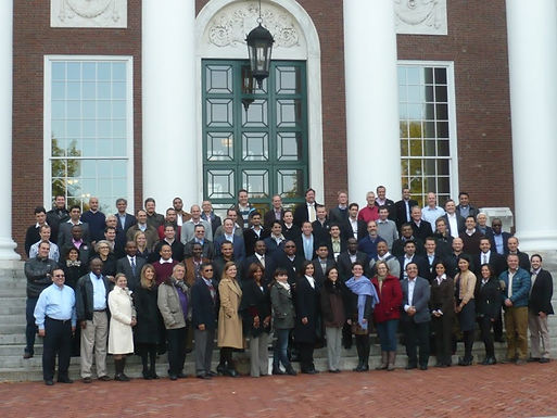 Dr. Trummer at Harvard Business School on Campus in Boston