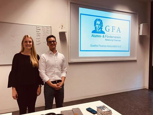 GFA begrüßt Erstsemester bei E-Woche