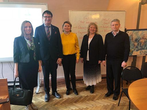 Dr. Trummer gave Leadership Seminar at St. Petersburg State University of Economics, April 8/9, 2019