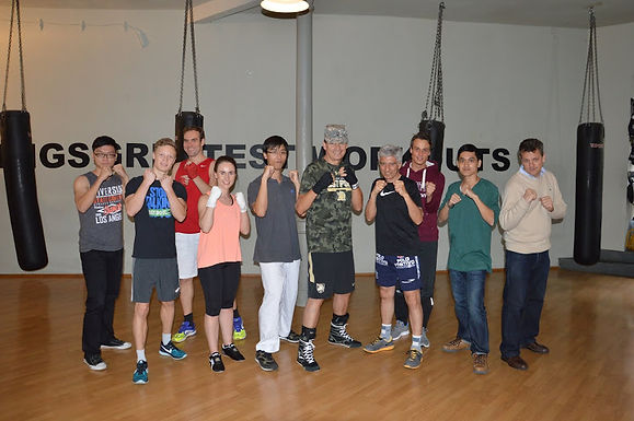 17. Exclusive GFA Boxing Workout, September 18th, 2015