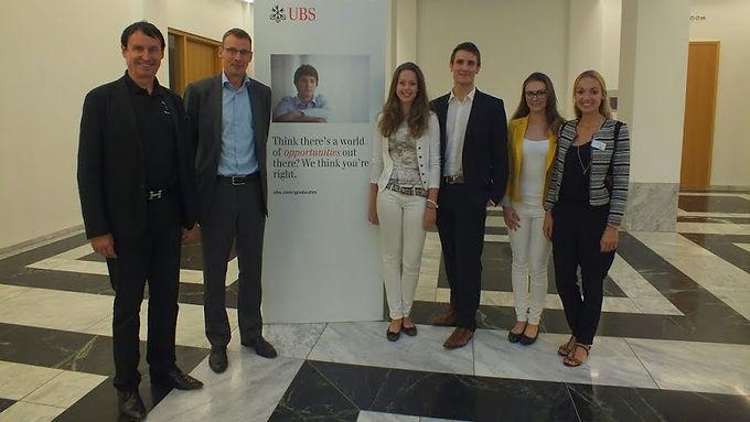 GFA-Supporter UBS zu Gast mit Company Presentation/Fachvortrag im House of Finance am 03.07.2014