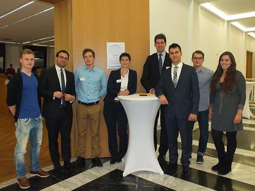 GFA-Premium-Partner J.P. Morgan mit Company Presentation im House of Finance am 01.11.12