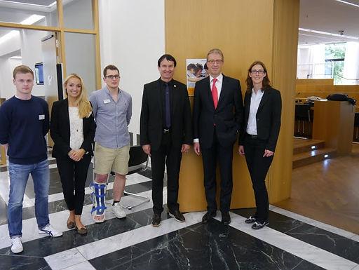 GFA-Premium-Supporter Commerzbank AG zu Gast mit Fachvortrag im House of Finance am 27.06.2013