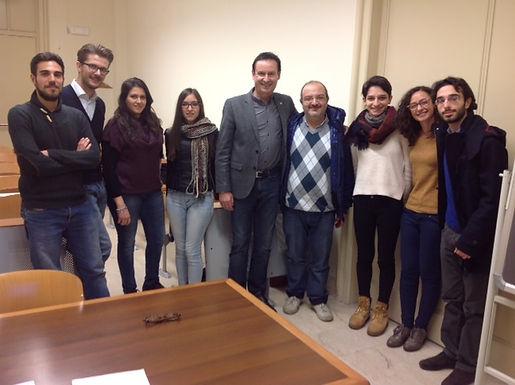 Dr. Trummer gives leadership Master/PhD-seminar at University of Catania, February 13-16, 2017