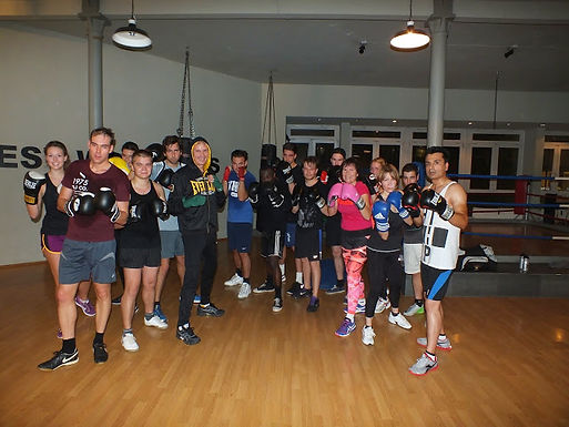 15. GFA Exclusive Personal Fitness Boxing Workout am 28.10.2014