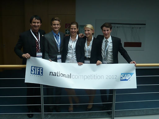 GFA bei SIFE Germany National Competition in der SAP University am 12./13.06.2012