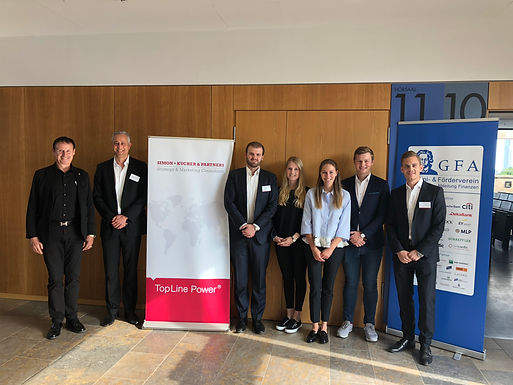 GFA supporter Simon-Kucher & Partners with Company Presentation at Campus Westend, June 14th, 2018