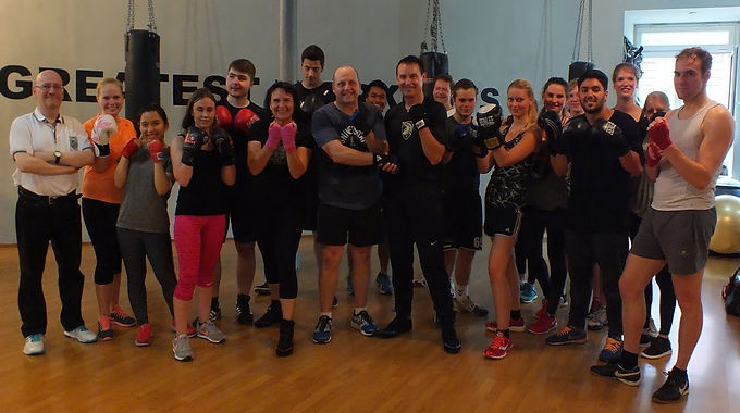16. Exclusive GFA Boxing Workout together with US Army/Military Academy West Point, June 2nd, 2015