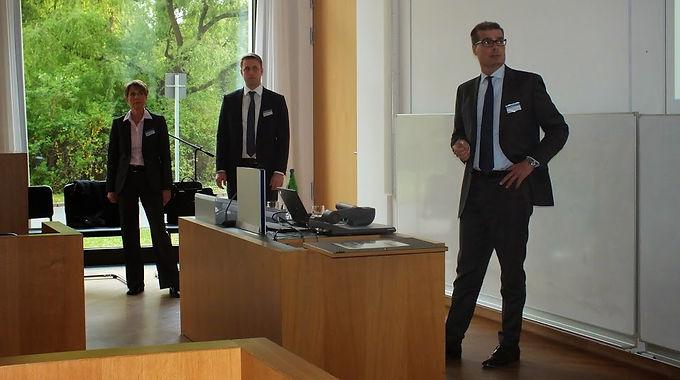 GFA-Supporter Lazard zu Gast mit Firmenpräsentation im House of Finance am 29.04.15