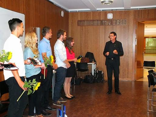 GFA zu Gast bei Enactus Goethe-Uni Frankfurt Team im Campus Westend am 03.07.2014