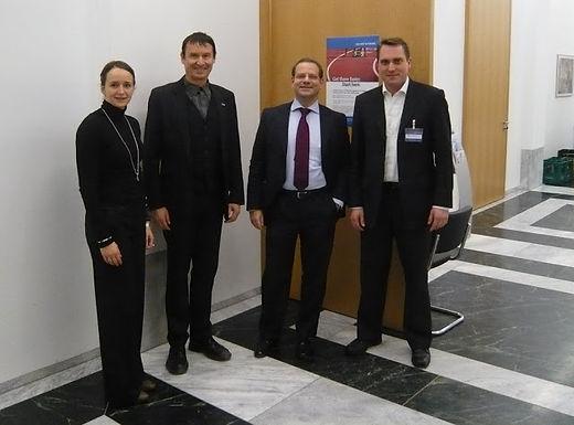 Auftaktveranstaltung der GFA mit Lecture von Oliver Wyman GmbH am 14.01.2010