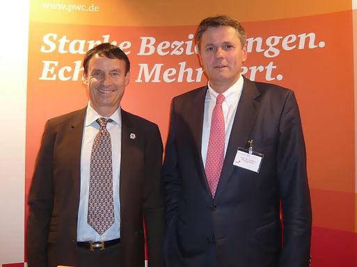GFA meets PwC Chief Executive Officer at Mannheim University, November 10th, 2011