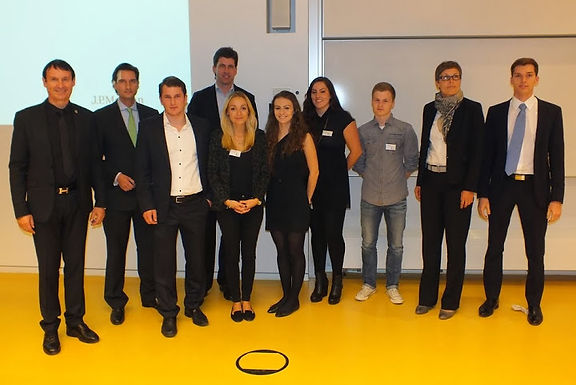 GFA-Supporter J.P. Morgan zu Gast mit Company Presentation im Campus Westend am 24.10.2013
