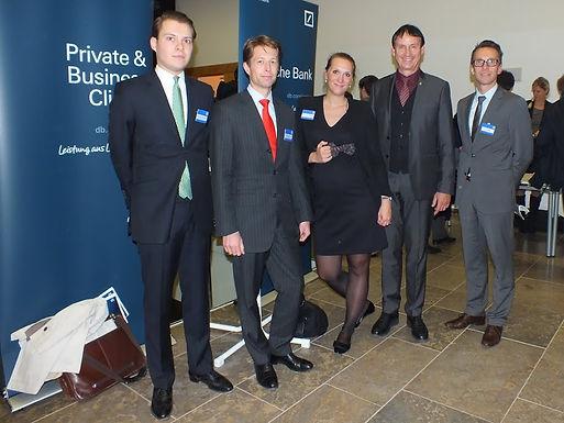 Event mit GFA-Premium-Förderunternehmen Deutsche Bank am Campus Westend am 24.10.2012