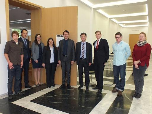 GFA-Premium-Partner IKB Deutsche Industriebank AG zu Gast im House of Finance am 19.04.2012