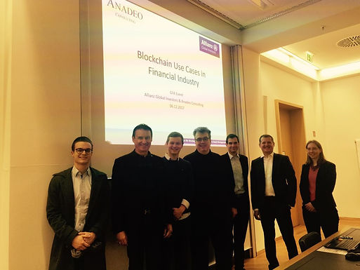 Anadeo Consulting and Allianz Global Investors with Presentation at Campus , December 6th, 2017