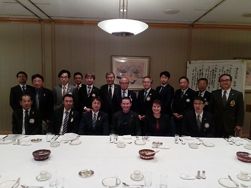 Dr. Trummer gives Leadership Speech at Lions Club in Tokyo, March 2017