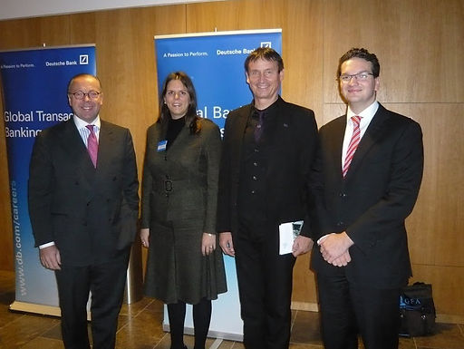 GFA Premium-Partner Deutsche Bank mit exclusivem Event zu Gast bei GFA am 11.11.2009
