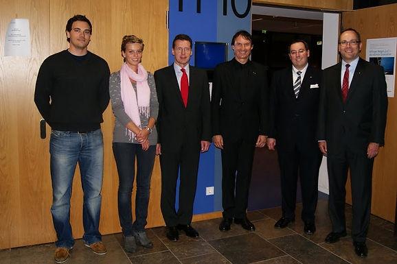 Bilfinger Berger zu Gast im Hörsaalzentrum/Campus Westend am 04.11.2010
