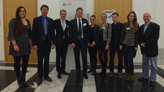 UBS Deutschland AG zu Gast mit Fachvortrag im House of Finance am 16.01.2014