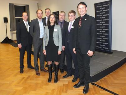 """GFA-Kooperationspartner """"DIE ZEIT"""" zu Gast im Casino Westflügel auf dem Campus Westend am 30.11.2011"""