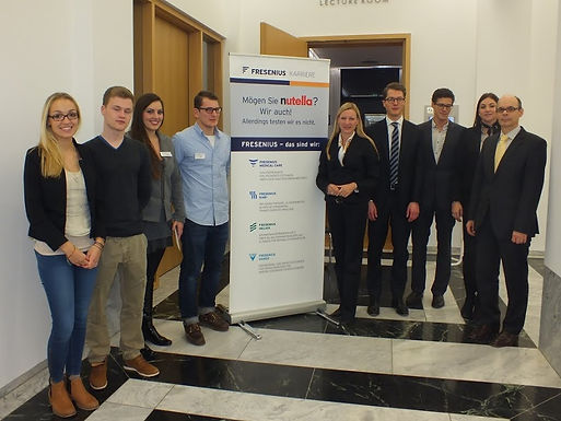 GFA-Premium-Partner Fresenius mit Company Presentation im House of Finance am 15.11.12