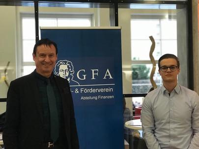 GFA at Mastergraduation at Campus Westend, December 8th, 2017