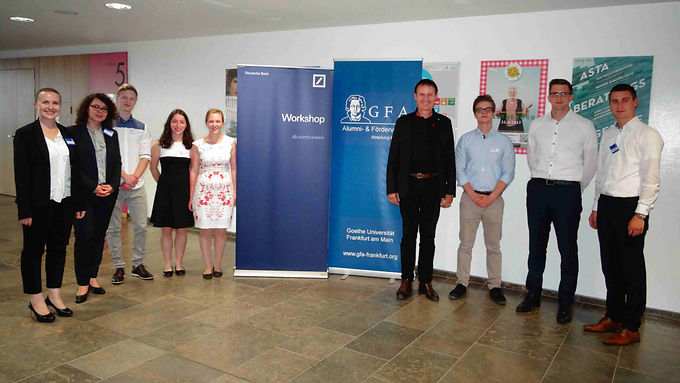 GFA supporter Deutsche Bank with Company Presentation at Campus Westend, June 22nd, 2017