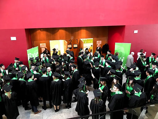GFA at Bachelor Graduation at Campus Westend, March 9th, 2018