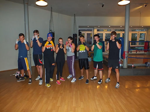 11. GFA Personal Fitness Boxing Workout am 29.10.2013